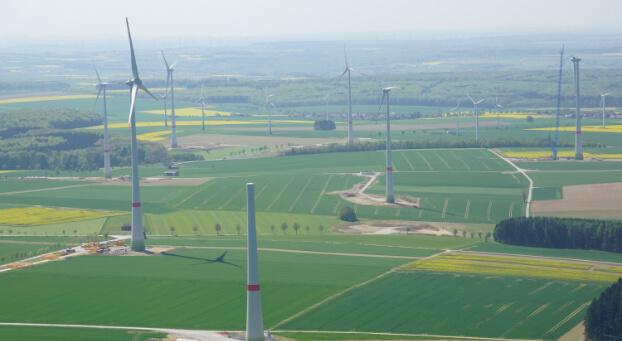 Windpark_von_oben